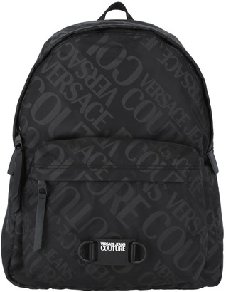 Versace Jeans Couture Logo Fabric Backpack