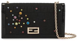 Zucca embellished wallet purse