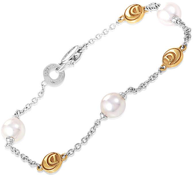 Damiani 18K Two-Tone Pearl 5Mm Bracelet