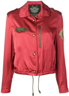Mr & Mrs Italy metallic embroidered jacket