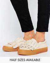 Asos DIDSBURY Ruffle Sneakers