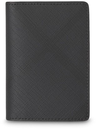 Burberry London Check and Leather Bifold Card Case