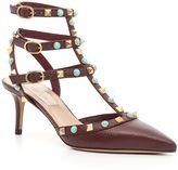 Valentino Sandalo Ankle Strap Rockstud Rolling