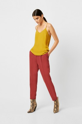French Connection Etta Silk Mix V Neck Cami