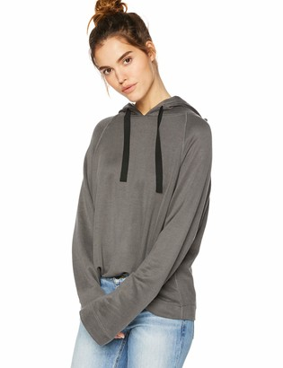Majestic Filatures Women's Cotton/Viscose/Cupro Blend L/S Hoodie
