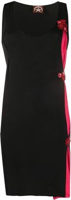 A.N.G.E.L.O. Vintage Cult 1990s Side-Draped Detail Short Dress