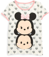 Mighty Fine Disney(R) Tsum Tsum Mickey & Minnie Tee (Toddler Girls, Little Girls & Big Girls)