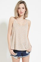 Forever 21 FOREVER 21+ Striped Cami