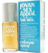 Jovan Sex Appeal By Cologne Spray 3 Oz by