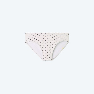 Summersalt The Limited-Edition High Leg Mid Rise Bikini Bottom - Damsel Dot