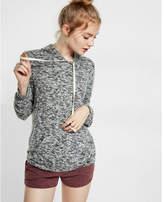 Express marled brushed hoodie