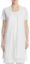 Eileen Fisher Short Sleeve Long Cardigan