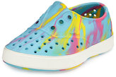 Native Miller Waterproof Marbled Rubber Skate Shoe, Yellow/Pink/Blue/White, Toddler
