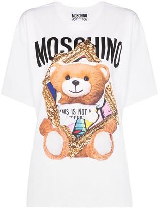 Moschino Teddy Bear logo-print T-shirt