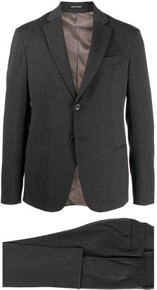 Emporio Armani Single-Breasted Two Piece Suit