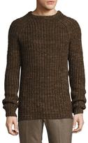 Billy Reid Wool Raglan Crewneck Sweater