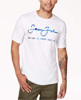 Sean John Men's Script City Logo-Print T-Shirt