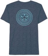 JEM Men's Captain America Shield Graphic-Print T-Shirt
