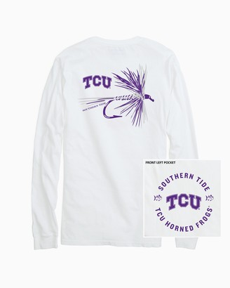 Southern Tide TCU Horned Frogs Fly Long Sleeve T-Shirt