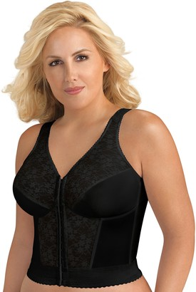 Exquisite Form Women's Original Long Line Posture Bra 5107565