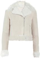 Mary Katrantzou Grace shearling jacket