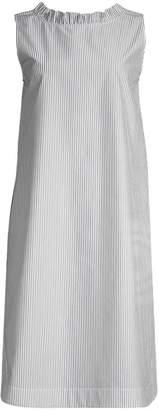 Lafayette 148 New York Mela V-Back Striped Shift Dress