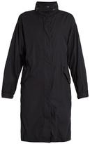 Vince Drawstring-hem cotton coat