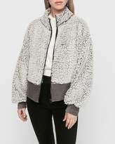 Express Sherpa Full Zip Sweatshirt