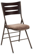Bed Bath & Beyond Wood and Metal Folding Chair