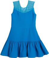 Zoe McKenna V-Neck Illusion Stretch Knit Dress, Size 7-16