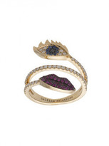 Delfina Delettrez Marry me eye and lips ring
