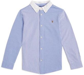 Ralph Lauren Kids Oxford Stripe Shirt (2-4 Years)