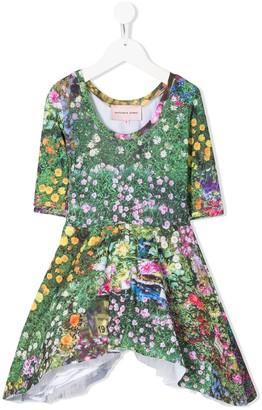 Natasha Zinko Kids Flower Print Dress