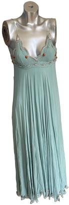 Matthew Williamson Green Silk Dress for Women Vintage
