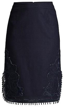 Kobi Halperin Giovanna Beaded Skirt