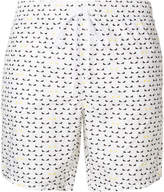 Fendi Bag Bugs-logo swim shorts