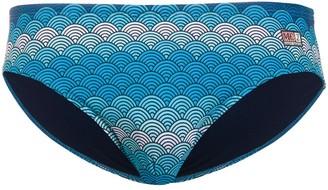 MC2 Saint Barth Cayo wave-print swim briefs