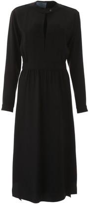 Prada Buttoned Back Long Dress