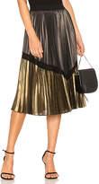 BCBGMAXAZRIA Toni Pleated Skirt