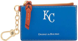 Dooney & Bourke MLB Royals Zip Top Card Case