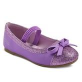 Peppa Pig Toddler Girls' Ballet Flats - Purple