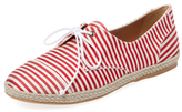 Tabitha Simmons Dolly Lace-Up Silk Espadrille