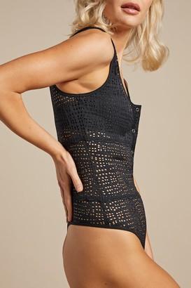 Negative Underwear Essaouira Bodysuit in Black