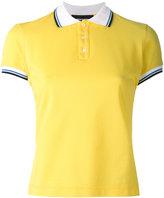 DSQUARED2 contrast stripe polo shirt - women - Cotton - XS
