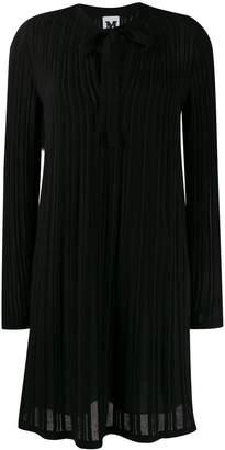 M Missoni key-hole neckline dress