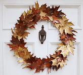 Pottery Barn Metal Leaf Wreath