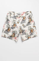 "Modern Amusement Fighting Tigers 17"" Swim Trunks"