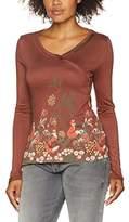 Joe Browns Women's Funky Fox Long Sleeve Top