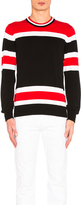 Givenchy Light Gauge Stripe Sweater