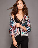 Ted Baker Mirrored Minerals bomber jacket